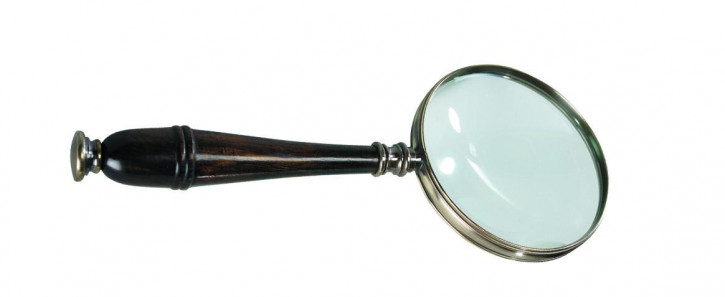 Lupe - Magnifying Glass, Bronze