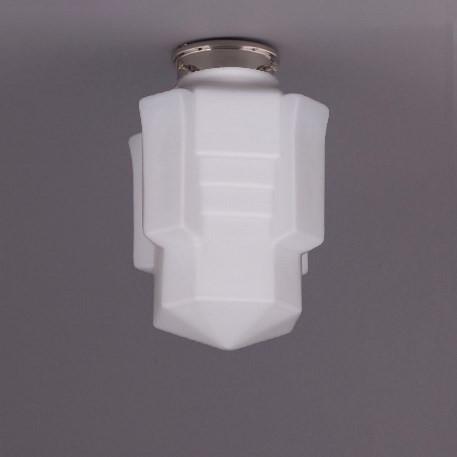 Deckenlampe Apollo Deckenplatte Recht  in Nickel