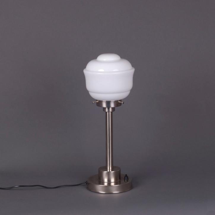 Tischlampe Frontier  Armatur Kantig  in Nickel Matt