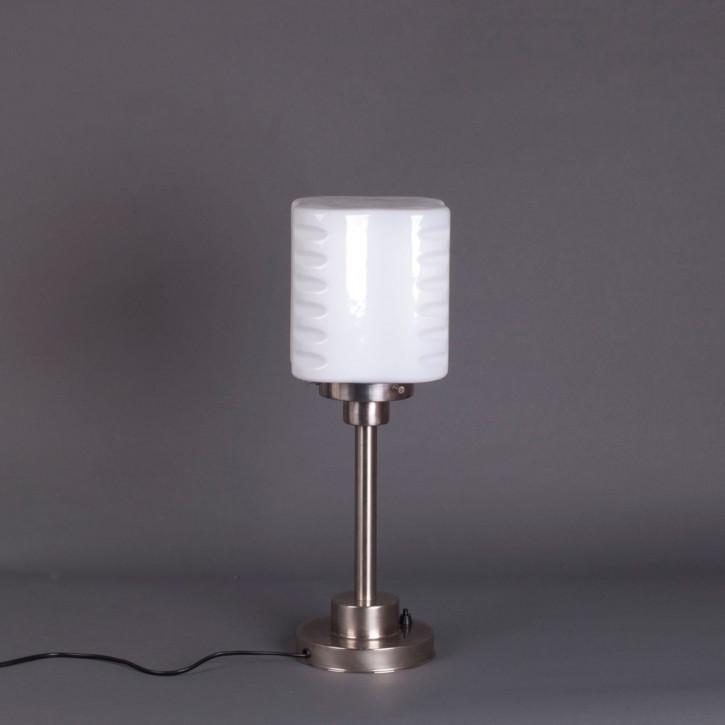 Tischlampe De Klerk  Armatur Kantig  in Nickel Matt