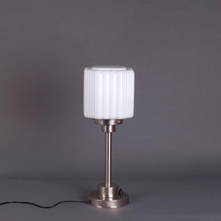 Tischlampe Thalia Armatur Kantig  in Nickel Matt