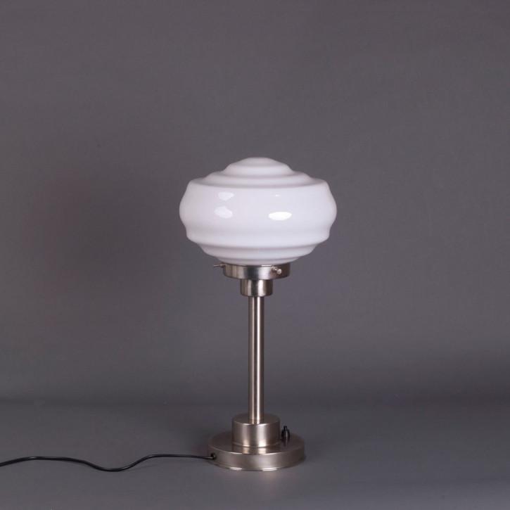 Tischlampe Alfons Armatur Kantig  in Nickel Matt
