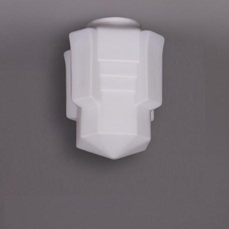 Deckenlampe Apollo Deckenplatte Recht  in Nickel Matt