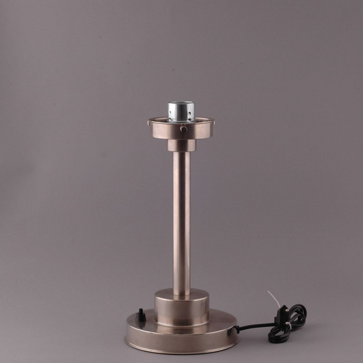 Tischlampe Deco Pointy Armatur Kantig  in Nickel Matt