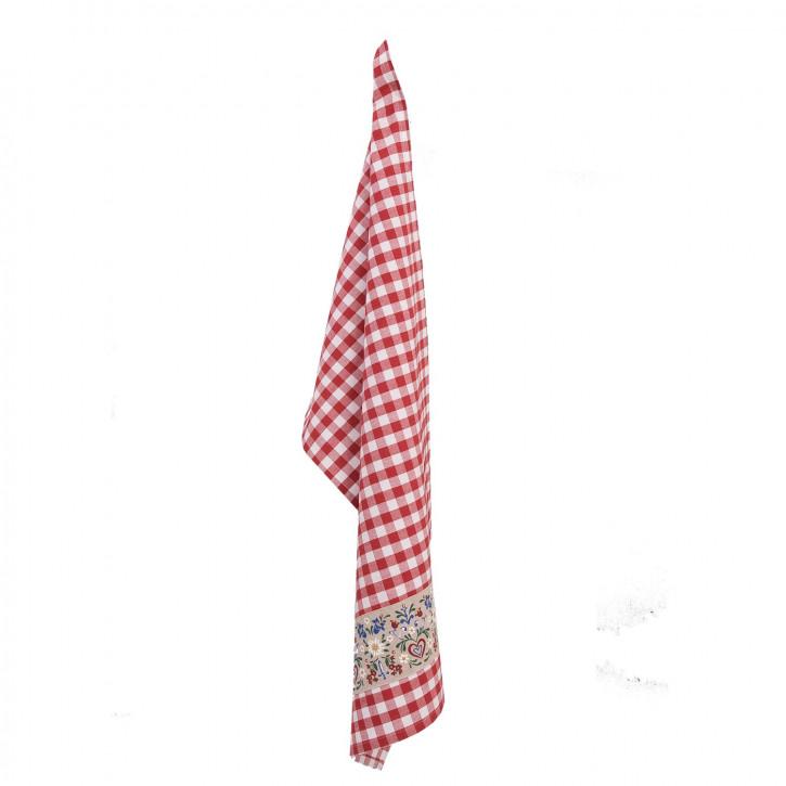 Küchentuch rot kariert 50*85cm