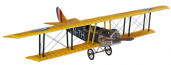 Modellflugzeug - Jenny JN-7H Classic Barnstormer, Medium gelb