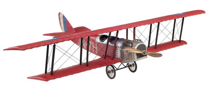 Modellflugzeug - Jenny JN-7H Classic Barnstormer, Medium rot