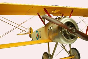 Modellflugzeug - 250cm Wingspan Sopwith gelb