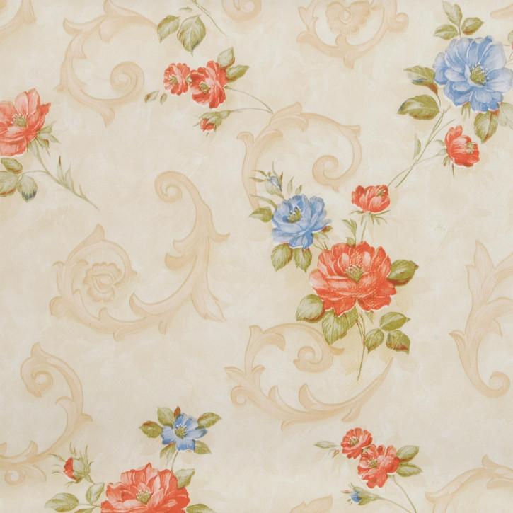 ---- Floral ---- Wachstuch --- Tischtuch --- Tischdecke --- 140 x 200 cm