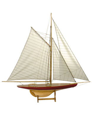 Schiff - Sail Model Defender 1895