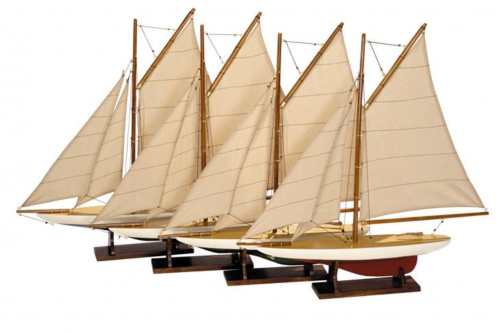 Schiff - Mini Pond Yachts - 4er Set