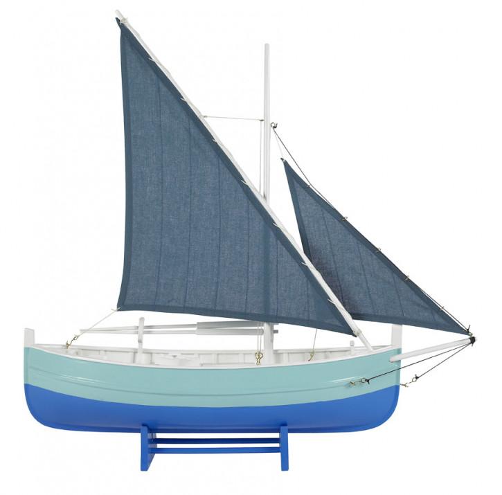 Schiff - Biscay Fishing Boat, blau
