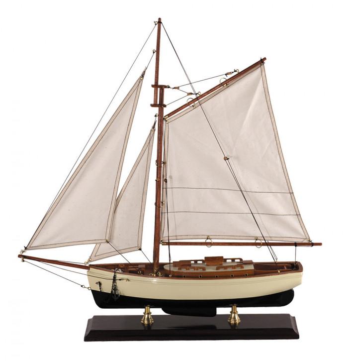 Schiff 1930er Classic Yacht, klein