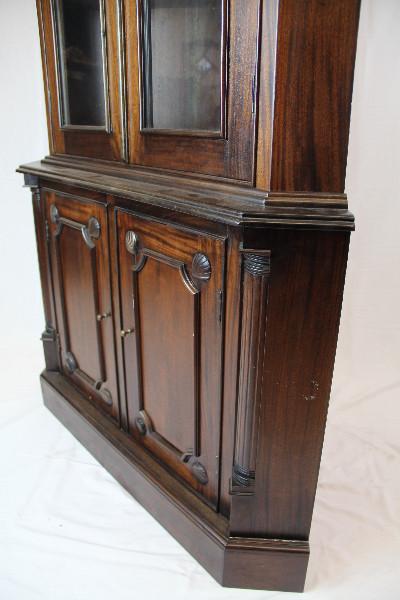 Eckschrank Massivholz Mahgoni Victorian Style