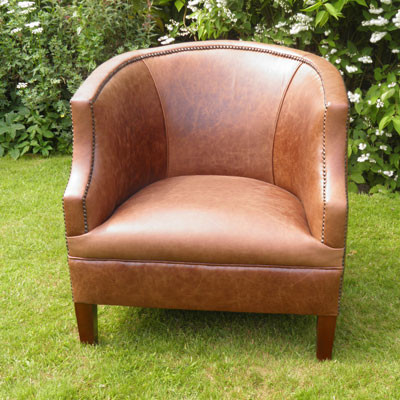 """""""Alcester Low Back Chair"""" Chesterfield Sessel"""