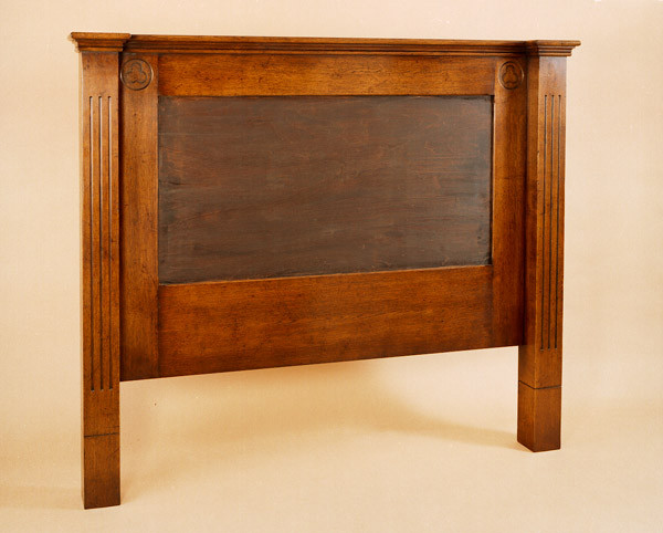 Joined Headboard - Fluted Stiles, Patera