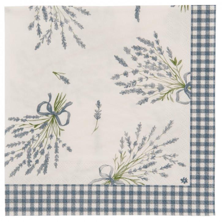 Papierservietten 33x33(20) Bouquet de Lavande