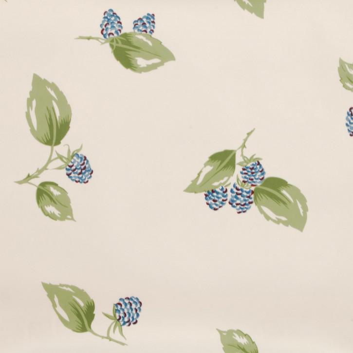 Wachstuch Tischdecke Beeren Blau 140x275 cm