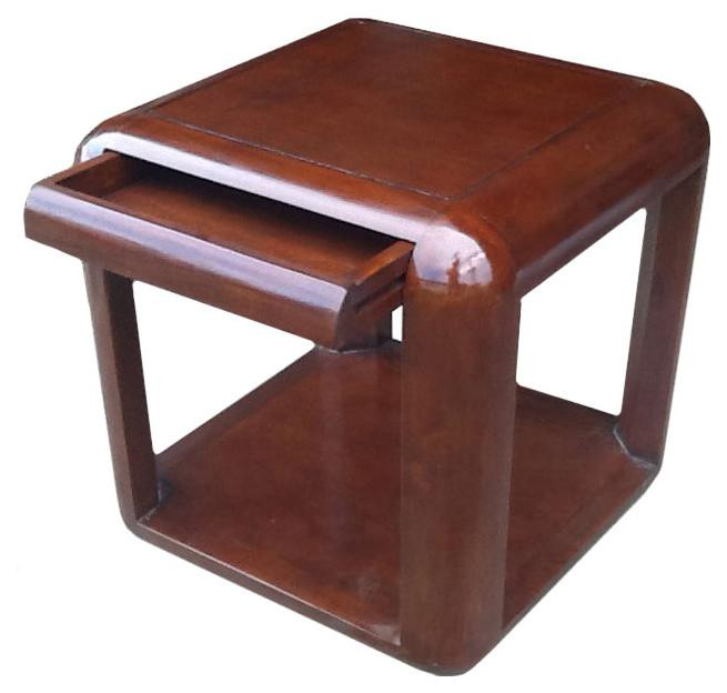"""""""Nautic VI"""" Beistelltisch mit Schublade aus Holz"""