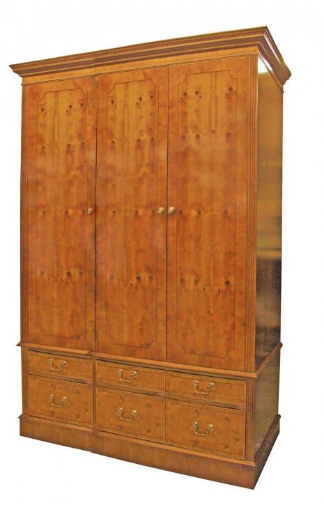 3 Door 6 Drawer Wardrobe