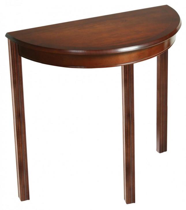 """""""Chippendale Bow Table"""" Konsolentisch mit gebogener Front"""