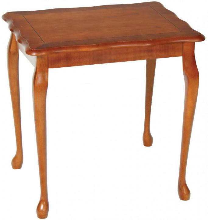 """Mittelgroßer Lamp Table im """"Queen Anne"""" Stil"""