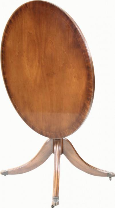 """""""Glasgow"""" mittlerer runder Tisch in Mahagoni Ø 92cm - ebenfalls in Eibe erhältlich"""