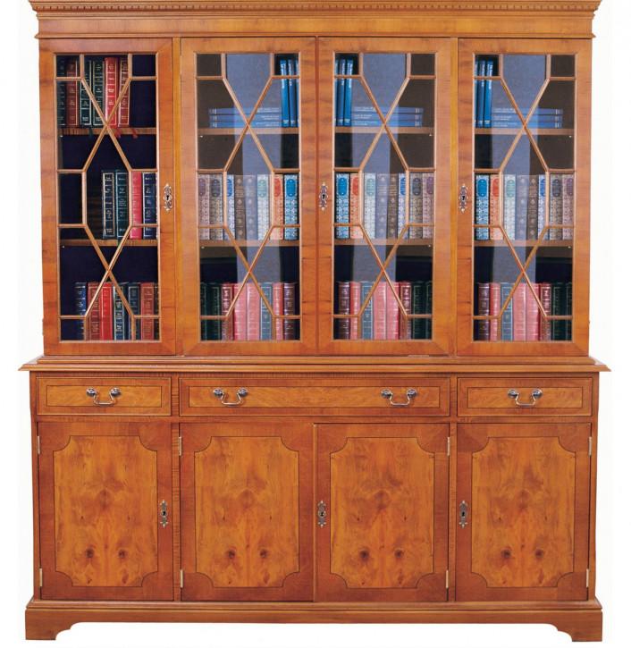 Flatfront Sheraton Bookcase