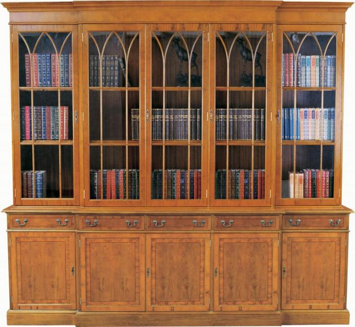 Georgian Bookcase 4 Doors