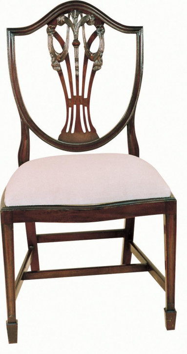 Shieldback Prince of Wales Feathers Chair