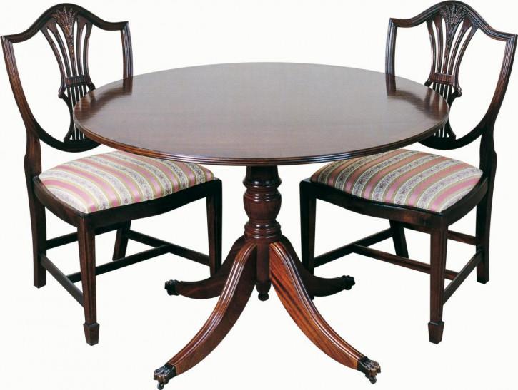 """""""Glasgow"""" kleiner runder Tisch  in Mahagoni Ø 76cm - auch in Eibe erhältlich"""