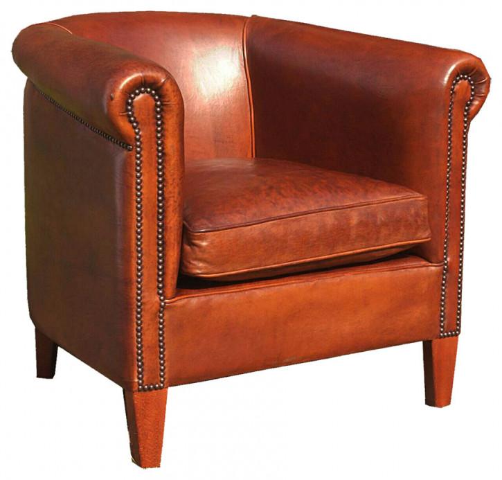 Gunnersbury Club Chair Handpatiniert