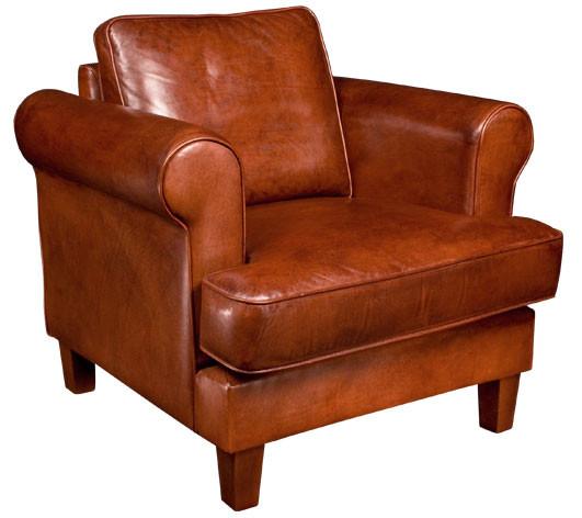 Canons Baron Chair Handpatiniert
