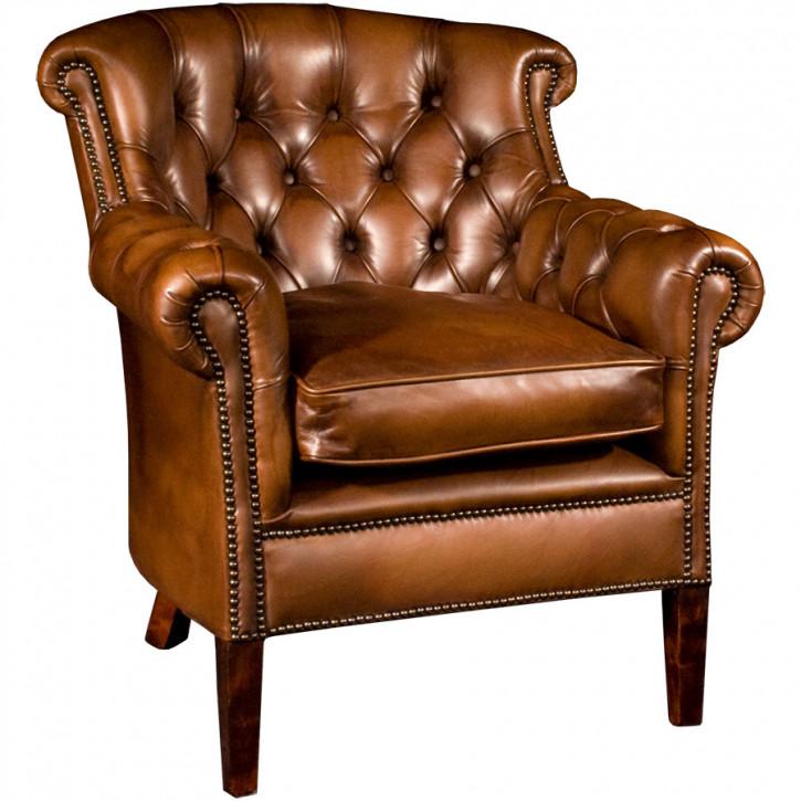Preston Lord Chair Handpatiniert