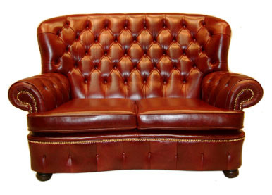 """Balmoral"" Chesterfield 2 Sitzer"