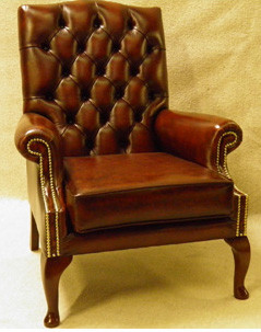 "Chesterfield Ohrensessel ""Bedford No Wing Chair"""