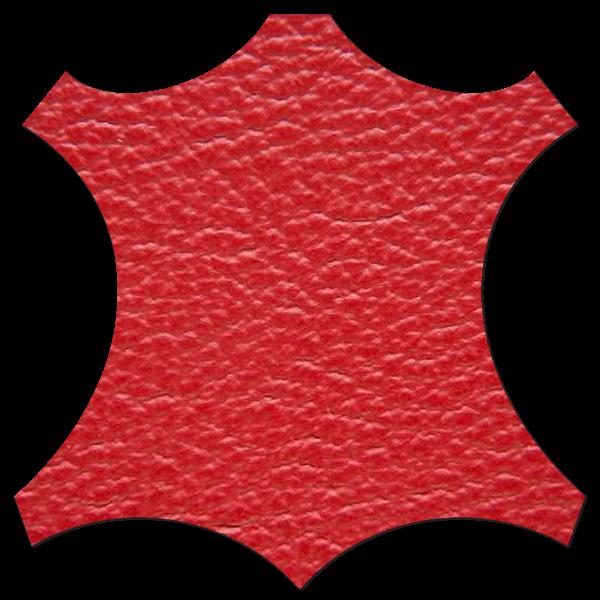 Lederprobe Birch Scarlet