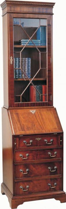 Englischer Bücherschrank mit Sekretär