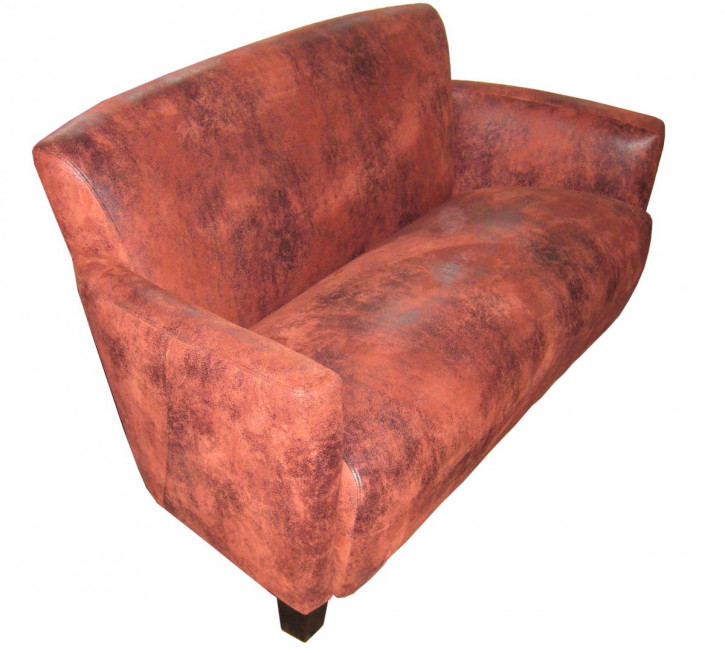"""Mustang"" Clubsofa  2 Sitzer rot"