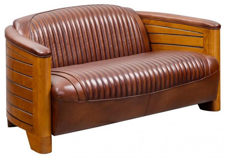 """Nautic"" Clubsofa  Vintage Zweisitzer"