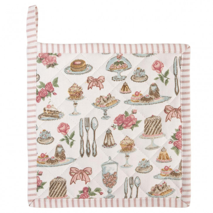 Topflappen 20 x 20 Cakes and Pastries