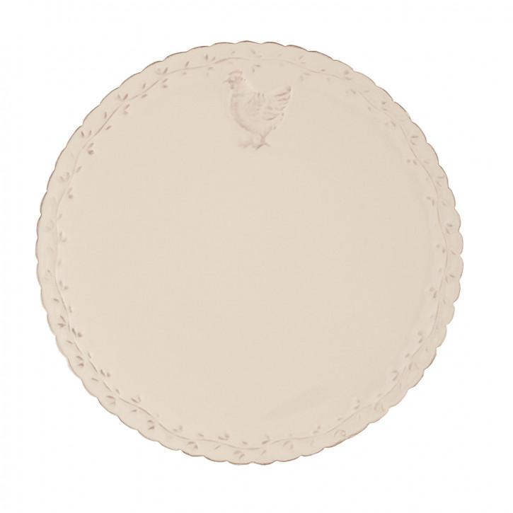 Kleiner Teller mit Deckel Ø21cm