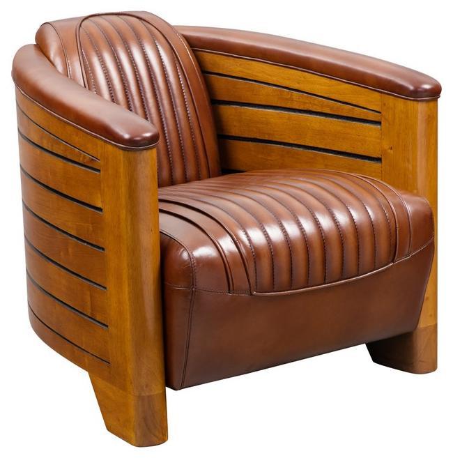leder clubsessel hell braun lederpolsterm bel original art deko stil nautische m bel vintage. Black Bedroom Furniture Sets. Home Design Ideas