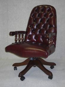 Chesterfield Drehstuhl Wellington Swivel