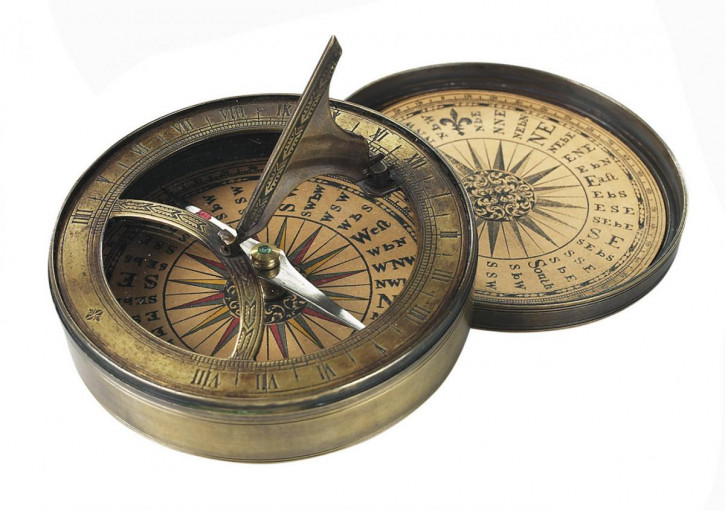 Kompass - 18th Century Sundial & Compass