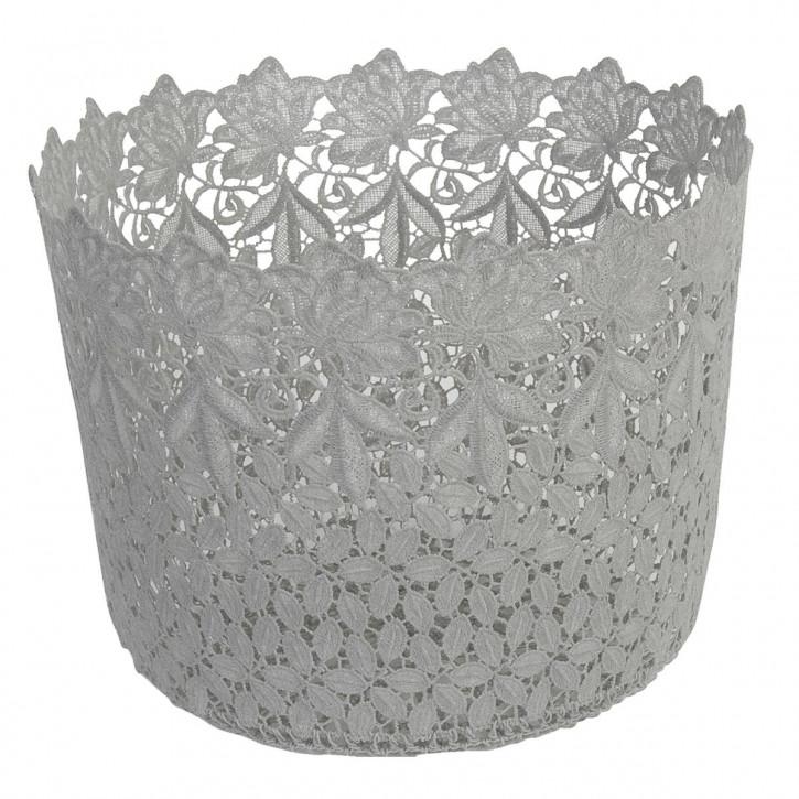 Körbchen Grau ca. Ø 29 x 22 cm