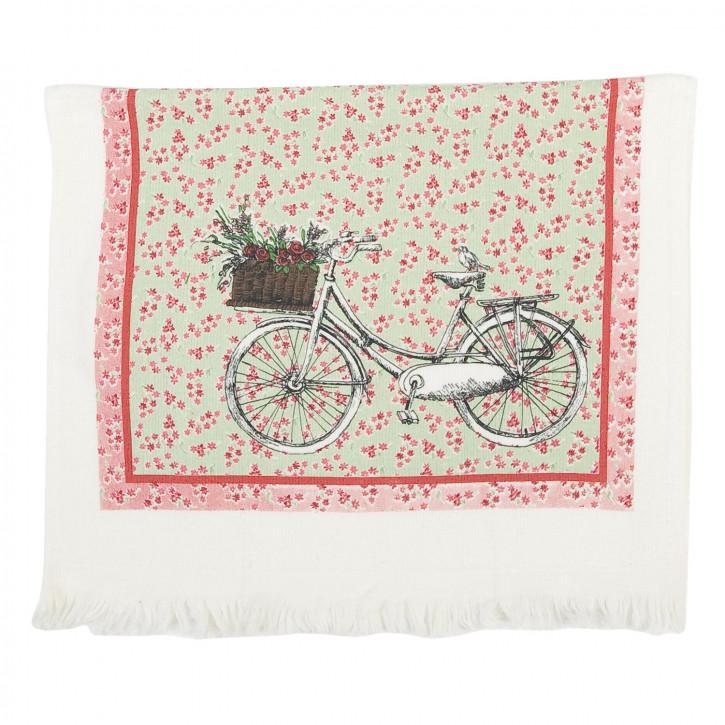 My Lovely Life Gästehandtuch Fahrrad 40 x 60 cm