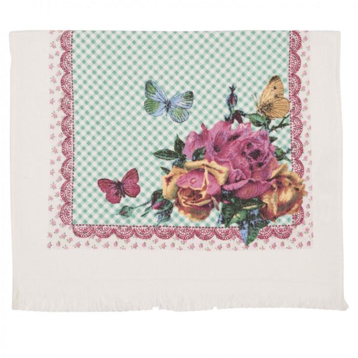 CTER Elegant Rose Gästehandtuch 40 x 60 cm