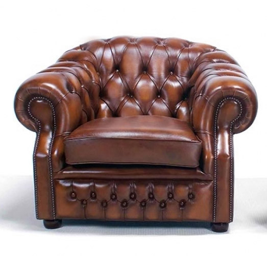 "Chesterfield Ohrensessel ""Livingston"""