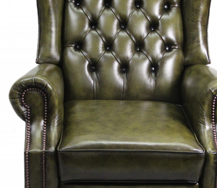 """""""Lazy Chair"""" Chesterfield Recliner"""